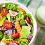 Un déjeuner d'entreprise faible en calories