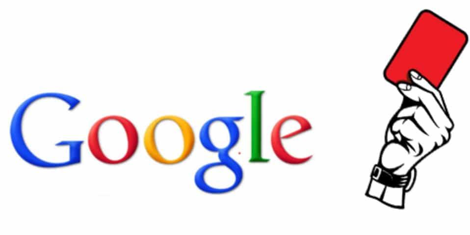 Pénalité Google et référencement