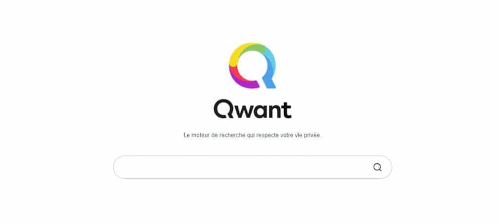Quelle est la particularité du moteur de recherche Qwant ?
